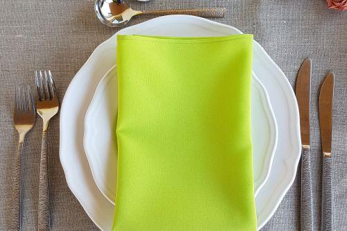 Ābolu zaļas salvetes
