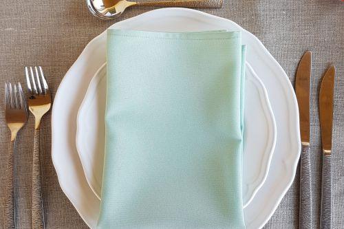 Mint zaļas salvetes