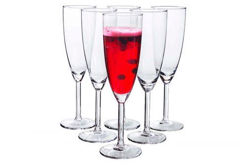 Šampanieša glazes
