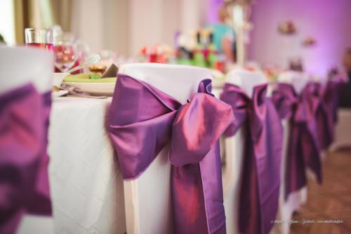 Violetas krēslu lentes